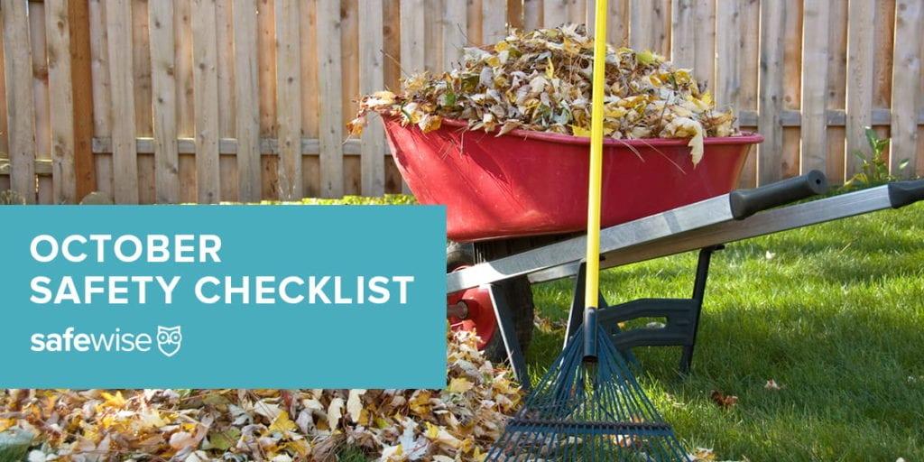 october safety checklist