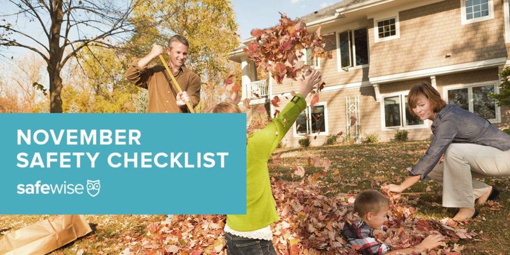 november safety checklist