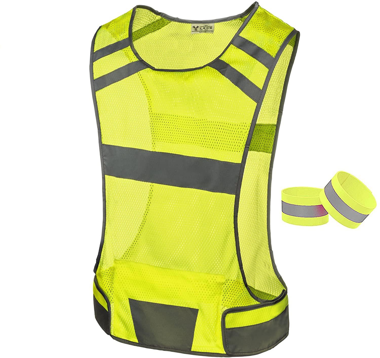 247 Viz Reflective Running Vest Gear