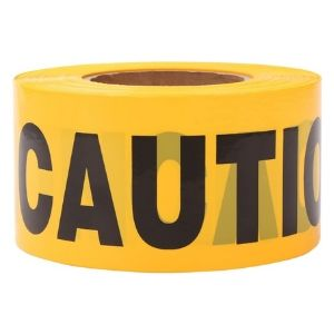 TopSoon Yellow Caution Tape Roll