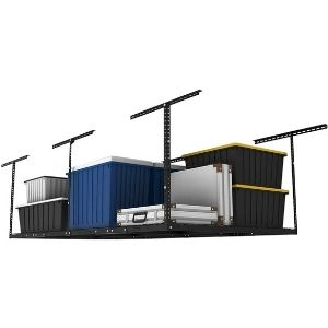 Fleximount overhead garage storage rack