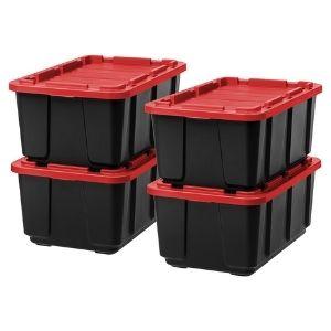 IRIS USA 27 gallon storage bins