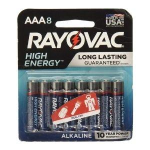 Rayovac AAA batteries product image