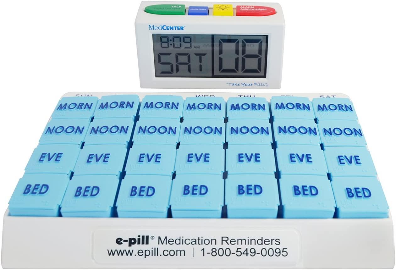 e-Pill 4 Alarm MedCenter Talk