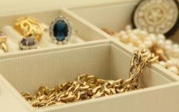 jewelry in jewelry box