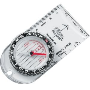 Silver Polaris Compass