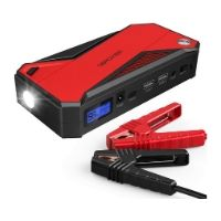 DBPOWER 800A 18000mAh Portable Car Jump Starter (up to 7.2L Gas, 5.5L Diesel Engine) Battery Booster with Smart Charging Port