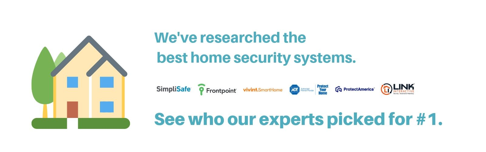Best Home Security System Banner