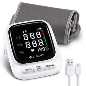 Etekcity Upper Arm Blood Pressure Monitor