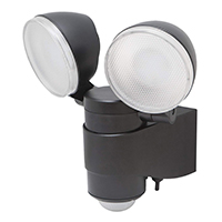maxsa black dual-head spotlights