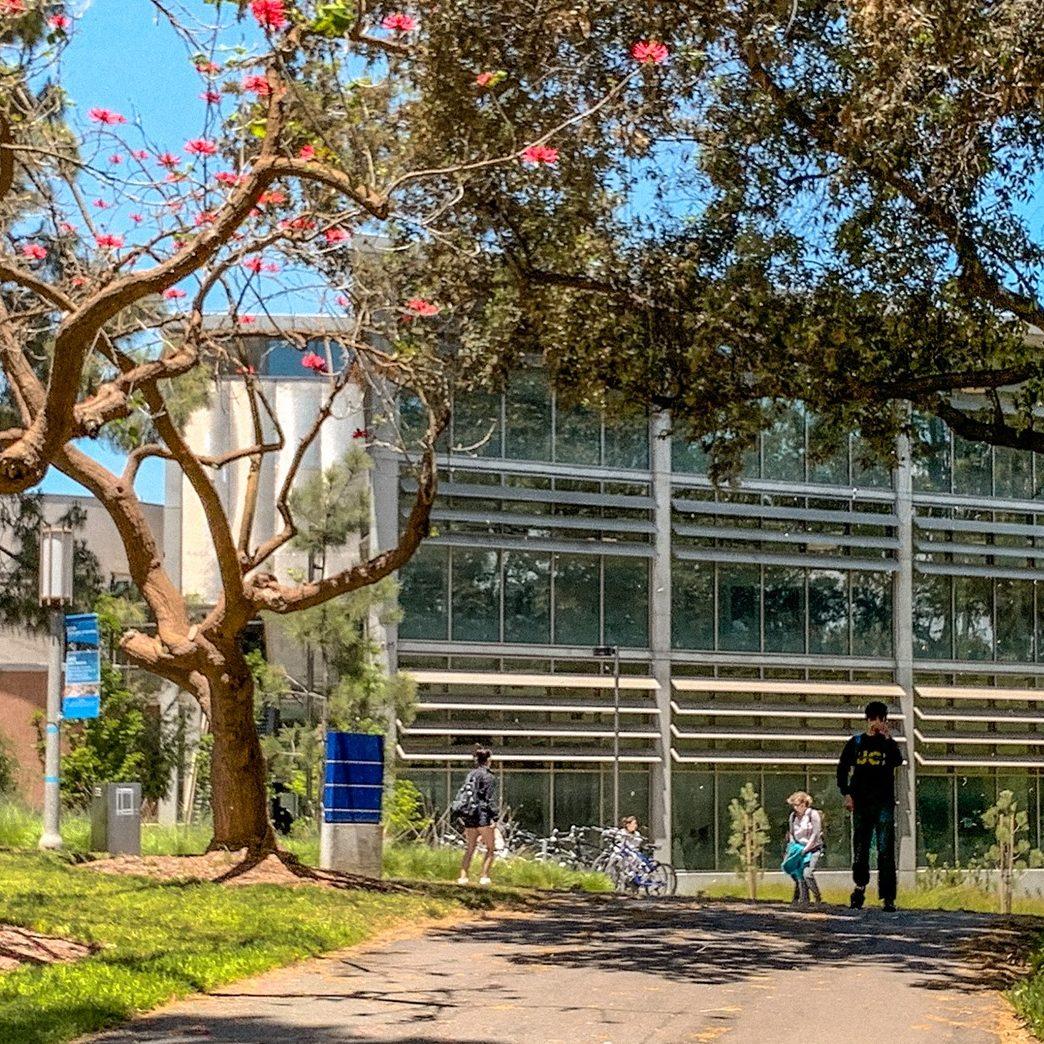 University of California campus in Irvine, CA