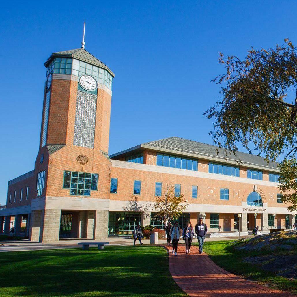 Roger Williams University campus in Bristol, RI