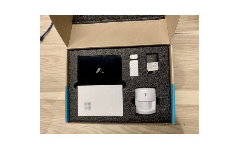 Abode smart security starter kit in the box