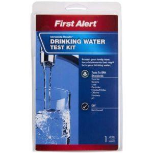 First Alert Drinking Water Test Kit