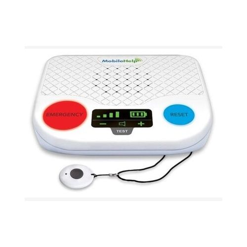 mobilehlep classic medical alert system base and help button