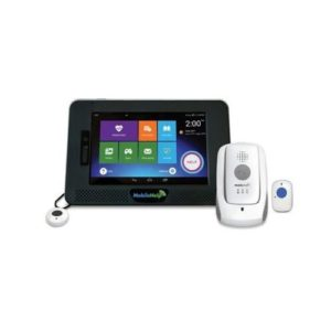 mobilehelp touchpad, mobile unit, and help button
