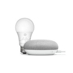 google home mini and smart light bulb