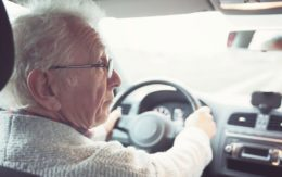 Old man driving_featured image