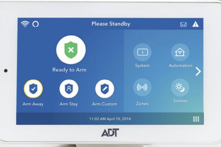 ADT Command Panel
