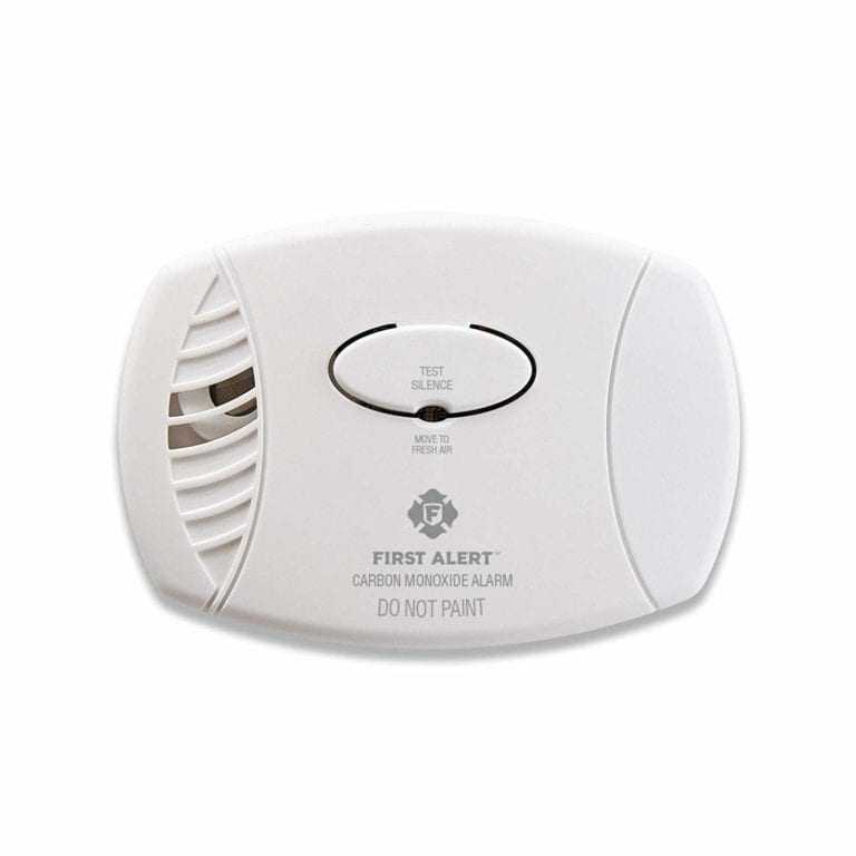 Home Security Protect Battery Smoke Detector Independent Monoxide Alarm Alert