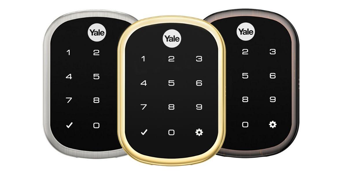 Yale Lock Finishes