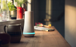 Simplisafe Hub on counter