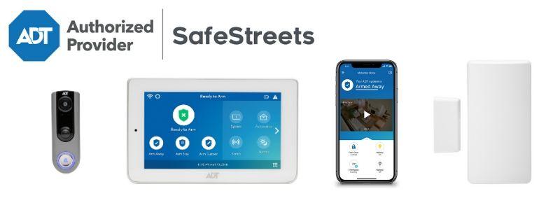 ADT Safe streets equipment banner