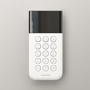 simplisafe wireless keypad