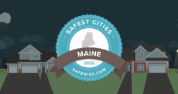The safest cities in Maine 2020
