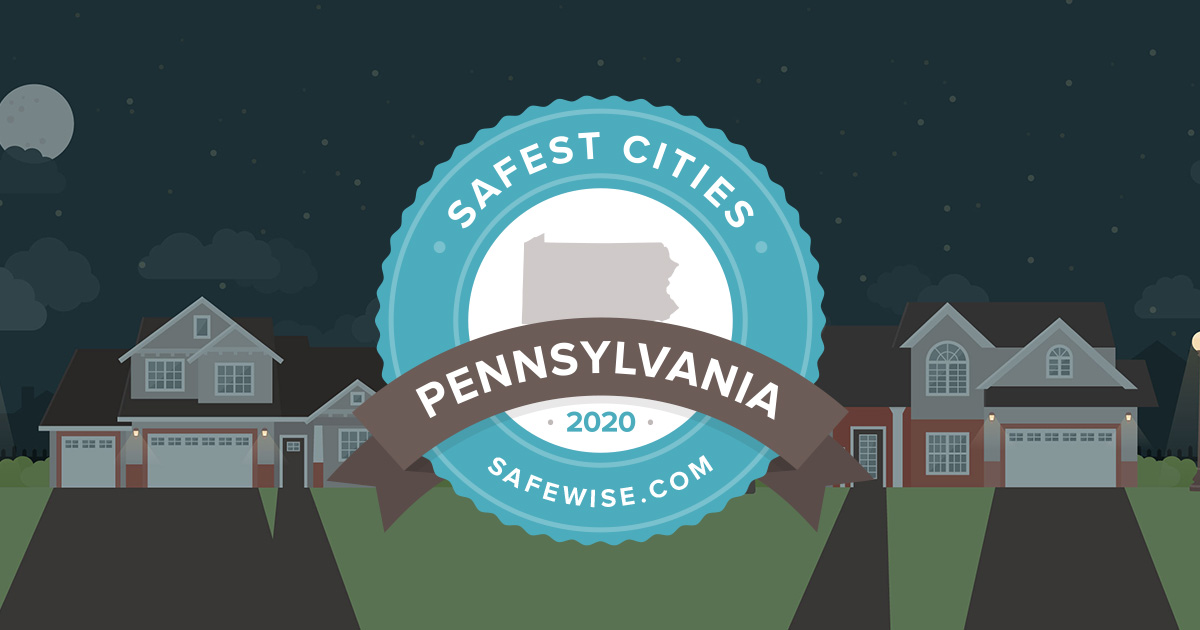 Pennsylvania Safest Cities Safewise