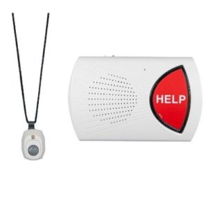 bay alarm medical device and push button