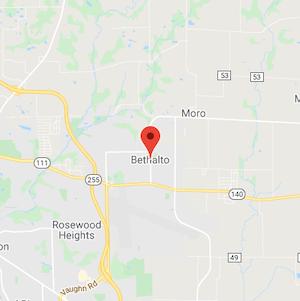 Bethalto, Illinois Map