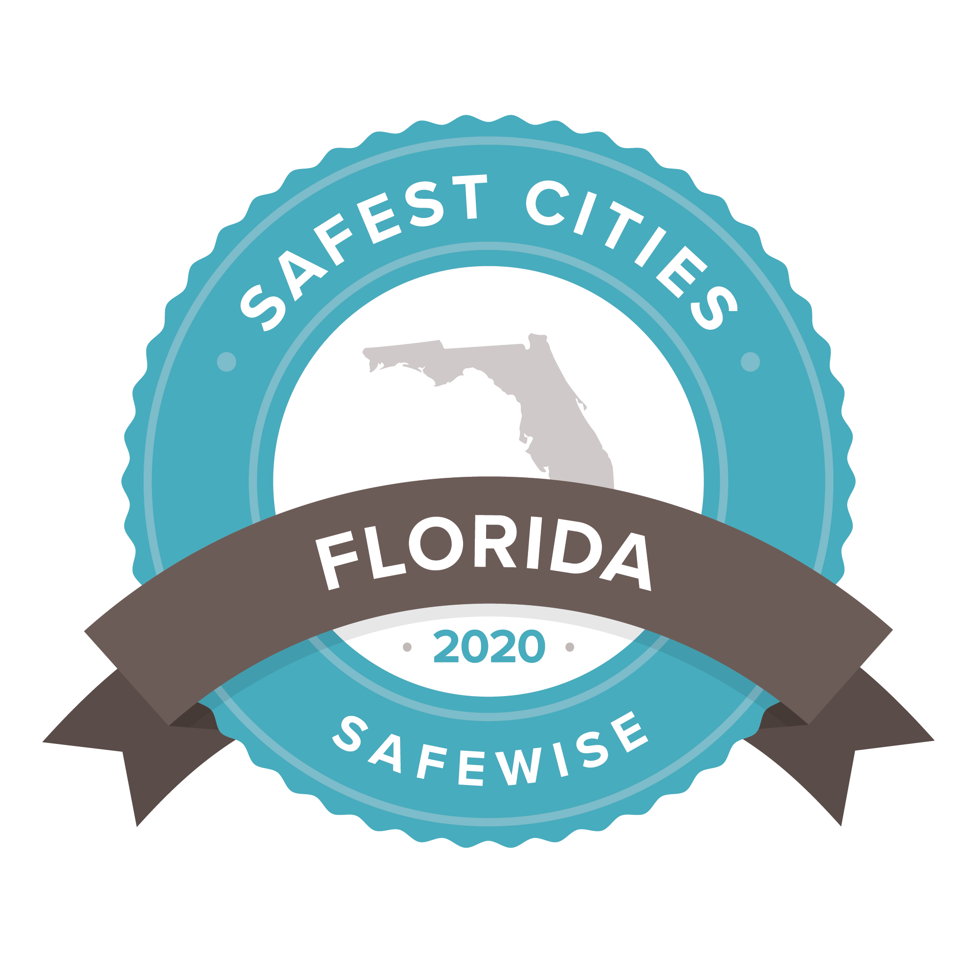 Florida Safest Cities Badge