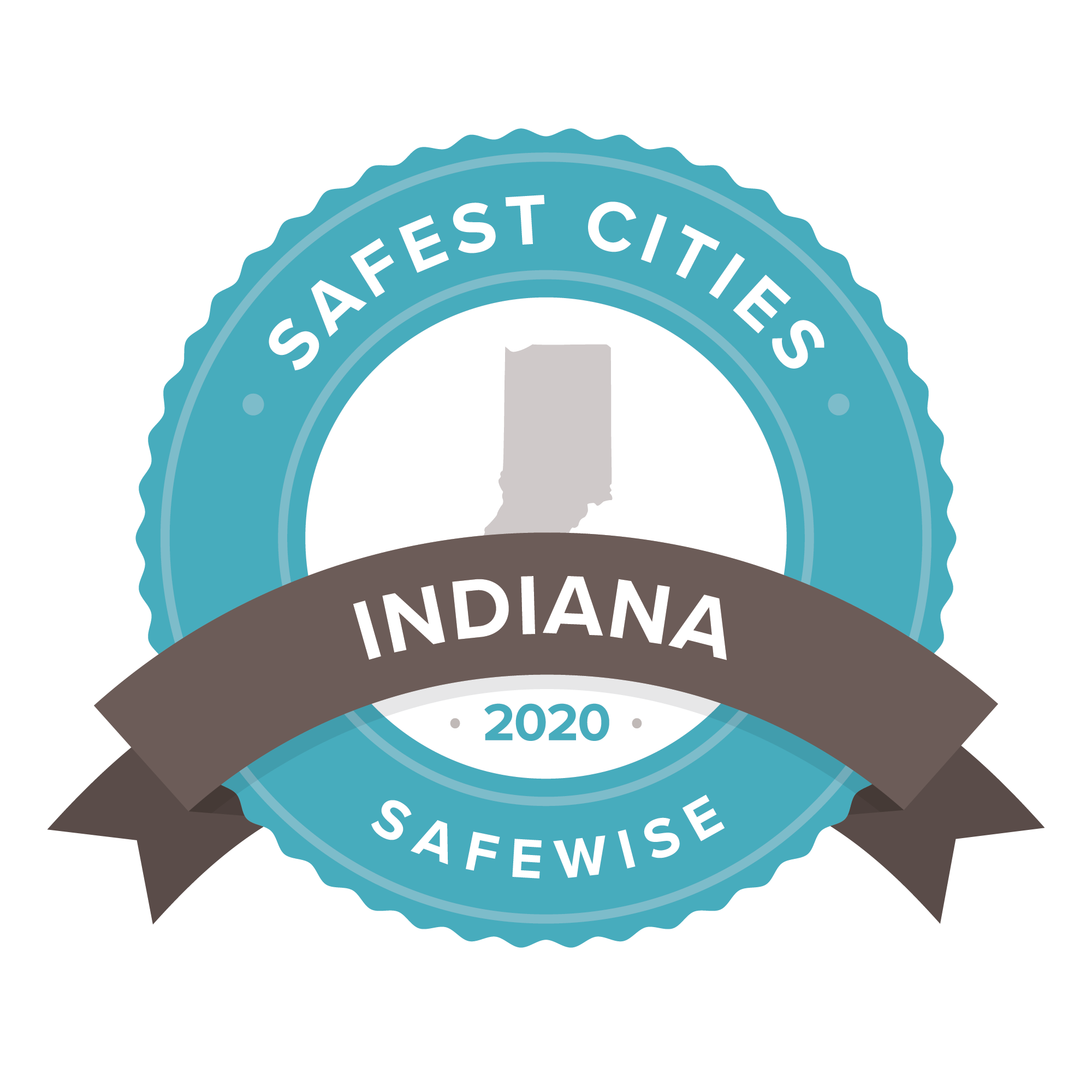 Indiana Safest Cities Badge 2020