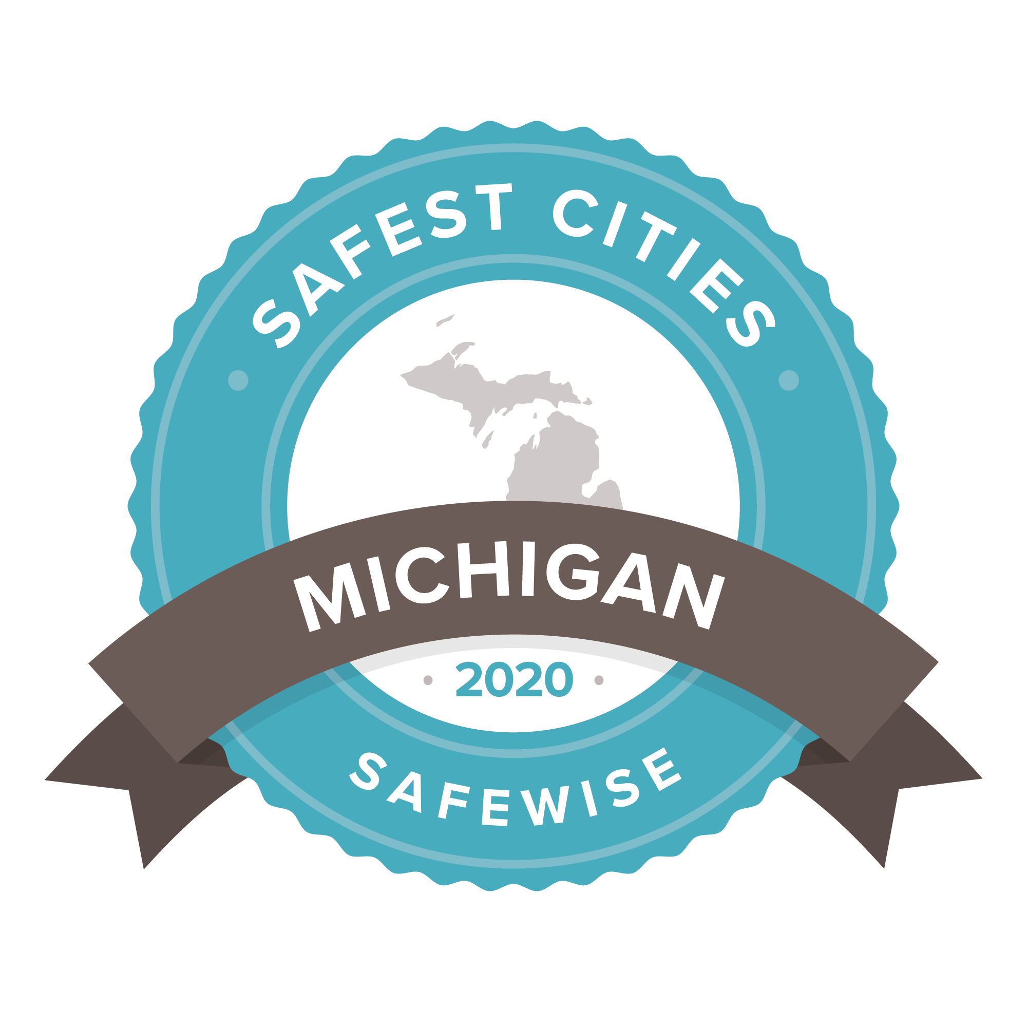Safest Cities Michigan badge