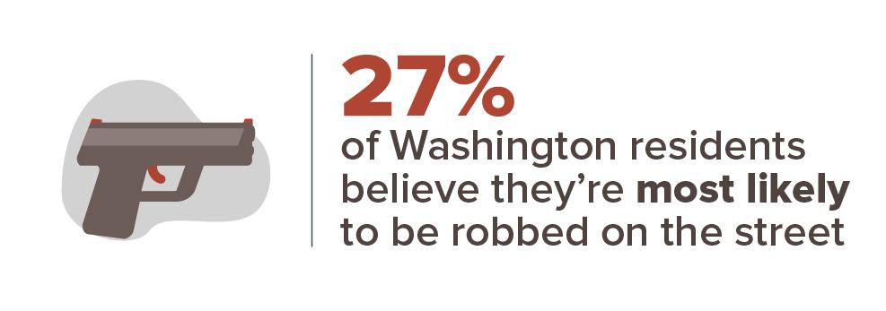 Washington crime concern infographic