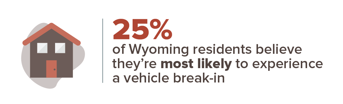 Wyoming crime concern infographic