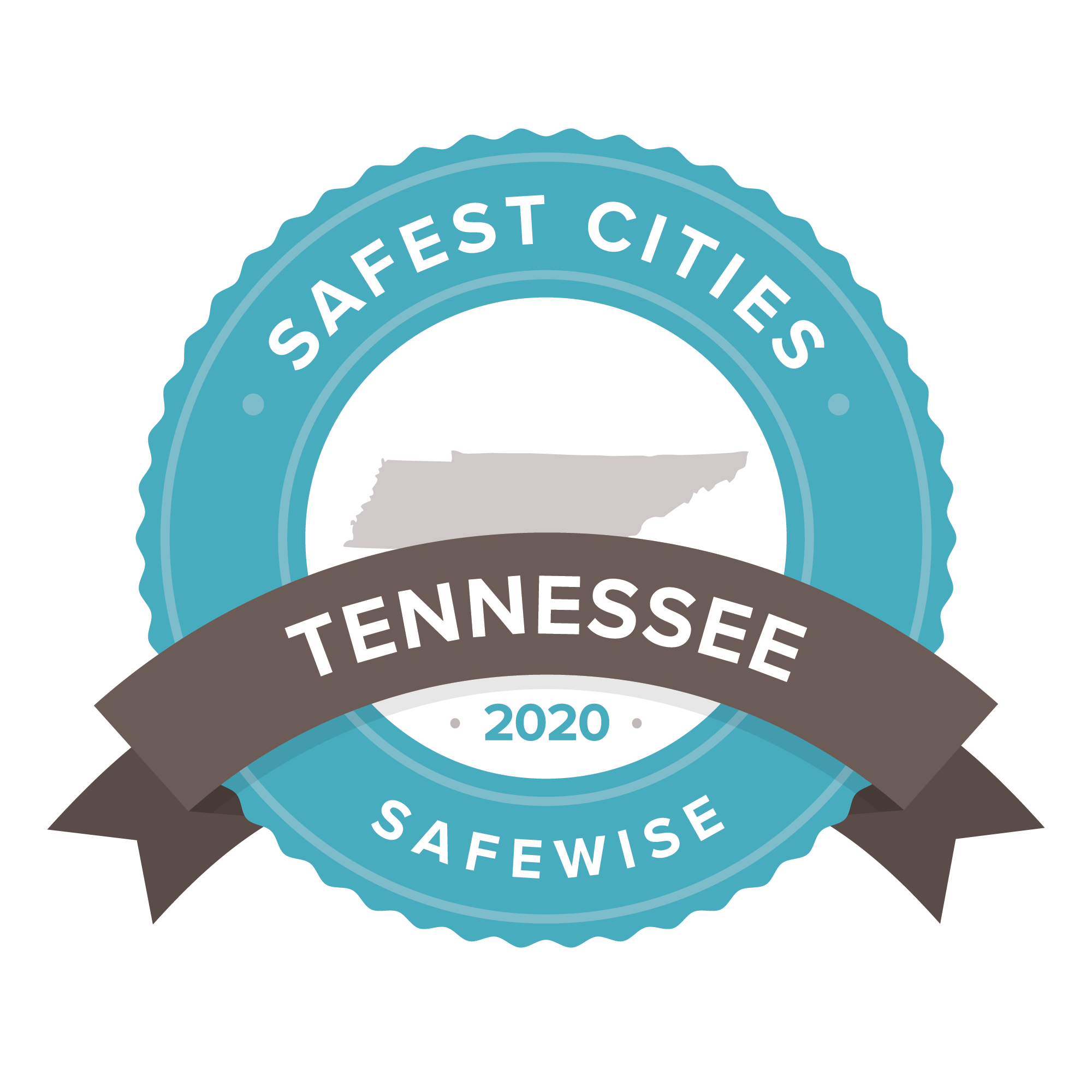 Tennesses safest cities badge