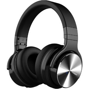 Image of black COWIN E7 PRO headphones