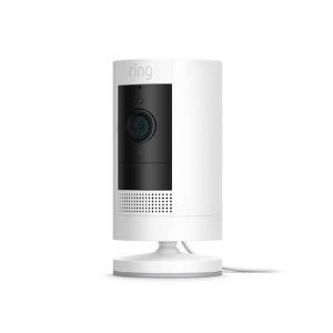 All-new Ring Stick Up Cam Plug-In HD security camera with two-way talk, Works with Alexa