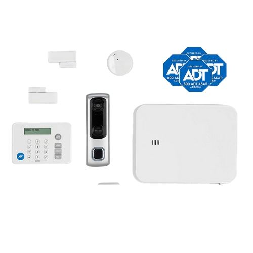 equipment from the blue by adt doorbell camera kit