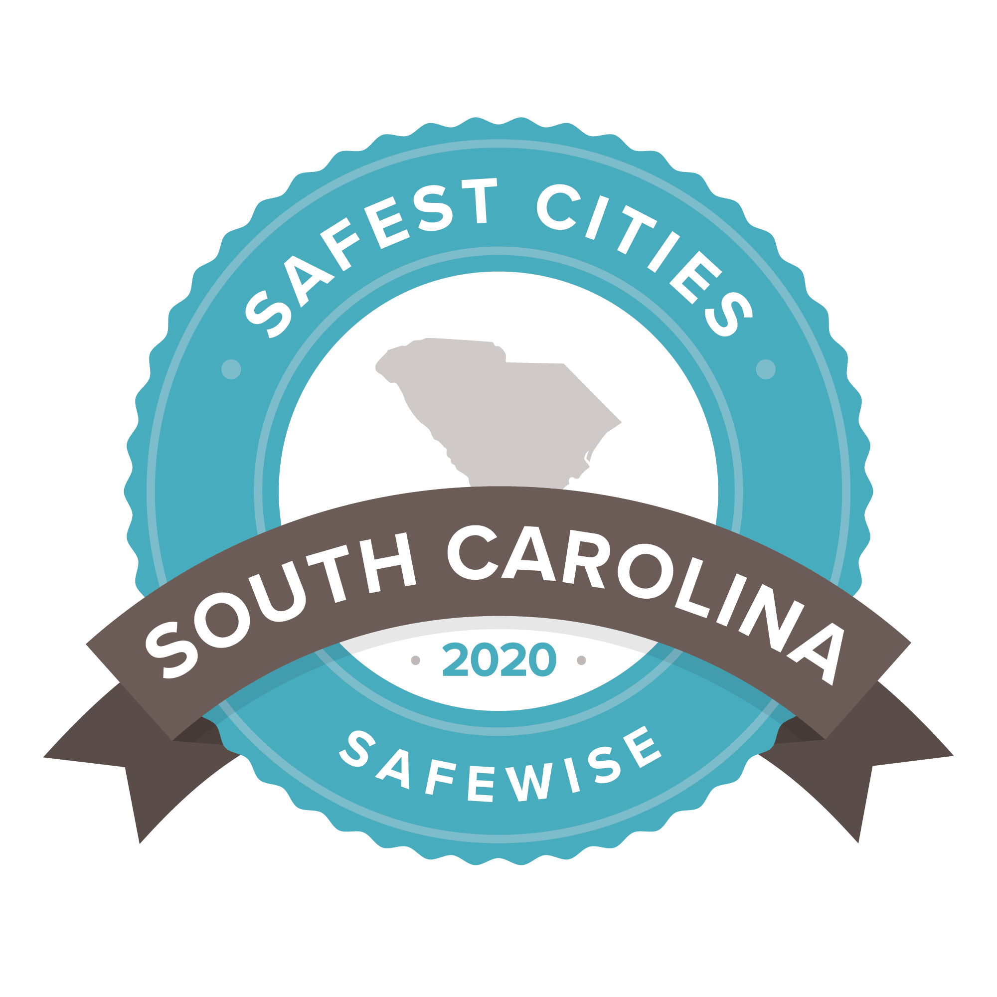 South Carolina Safest Cities Badge