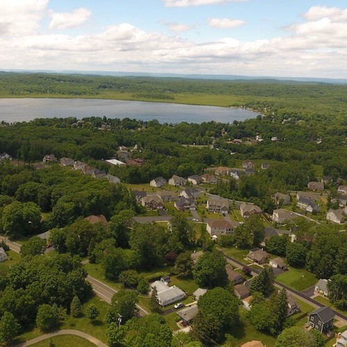 Aerial view of Mount Olive Township, NJ