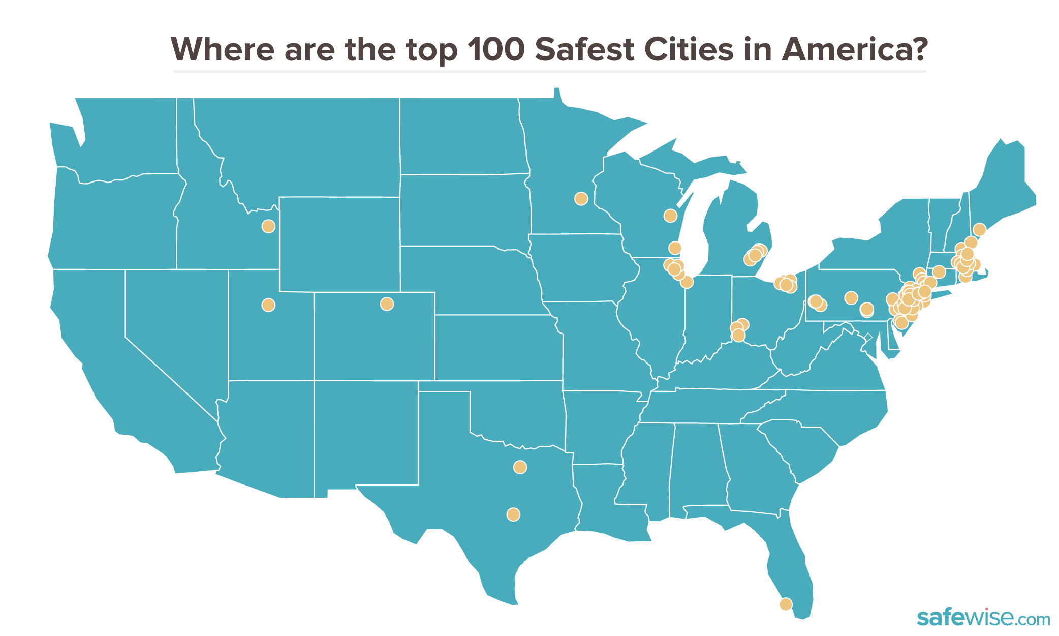 Picture of: 100 Safest Cities In America Safewise