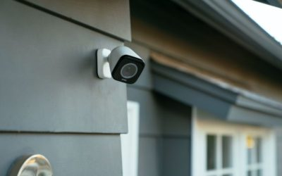 Vivint Outdoor Camera Pro on Wall