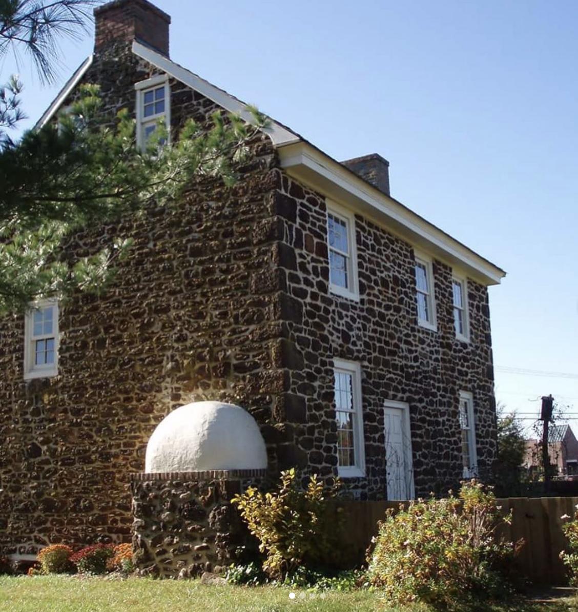 Historic brick building in Washington Township, NH
