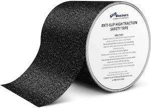 roll of slip doctor black no-slip tape