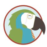 Silliest Pets Parrot Illustration