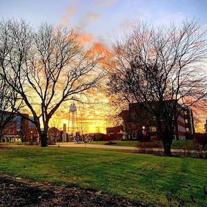 Benedictine University campus in Lisle, IL