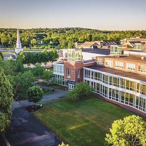 Merrimack College campus in North Andover, MA